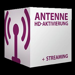 Antenne HD-Aktivierung