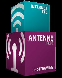 simpliTV Antenne Plus + Internet LTE