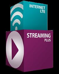 simpliTV Streaming Plus + Internet LTE