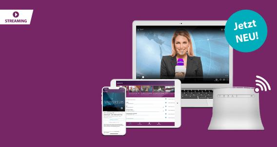 Unlimitiertes Internet + mehr als 50 Sender inkl. HD streamen!
