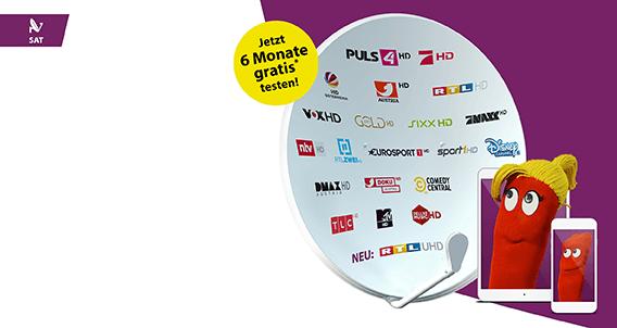Mehr Sender in HD über SAT
